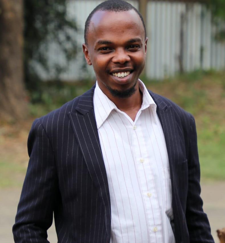 YLAB MEMBER Benson Mwangi